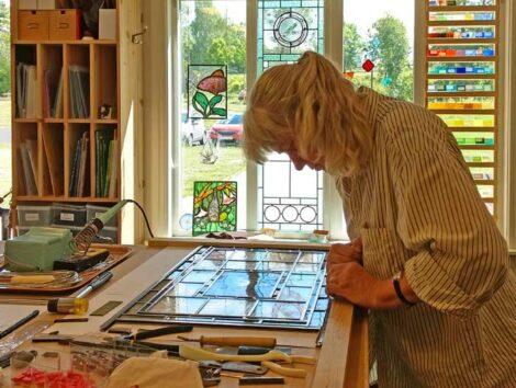 Christina Alvner Glas och Lera