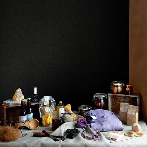 Produkter från verksamheter i Kvarteret Bryggeriet i Nora.